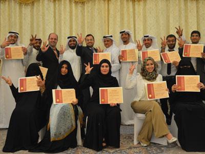 دورة تدريب المدربين الإمارات العربية المتحدة - العين 12 ابريل 2015
